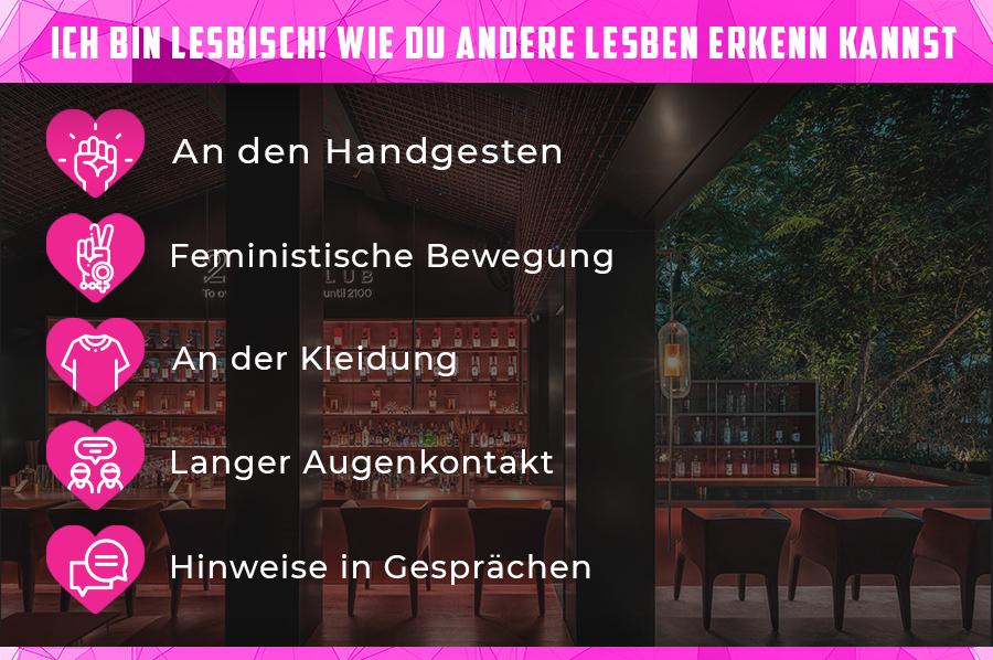 Infografik: Wie du andere Lesben erkennst