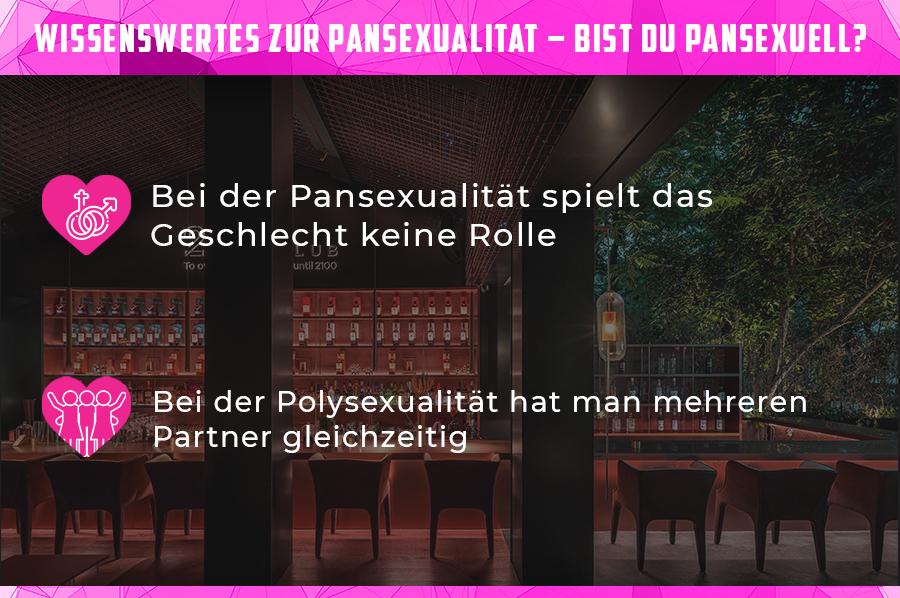Infografik: Unterschiede zwischen Pan- und Polysexualität